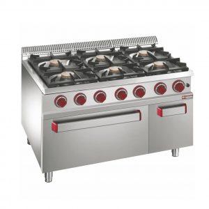 Cuisinière 6 feux / Four - Diamond G700