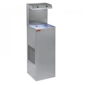 Refroidisseur d'eau, inox, 80 Lit/h, double verseur