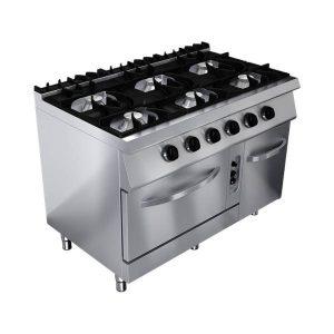 cuisinière 6 feux kuzina