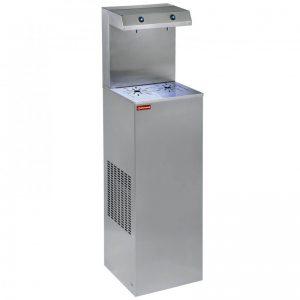 Refroidisseur d'eau, inox, 150 Lit/h, double verseur
