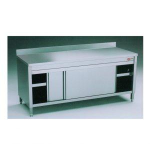 Table sur armoire chauffante